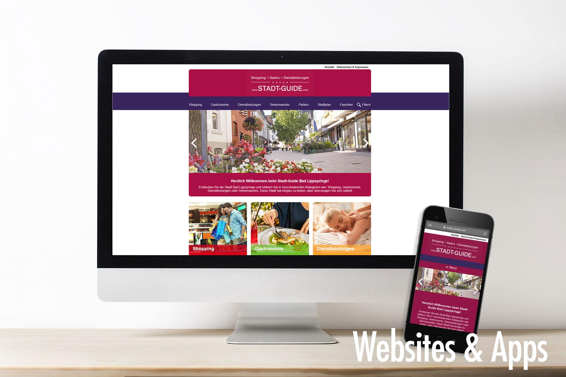 Websites und Apps