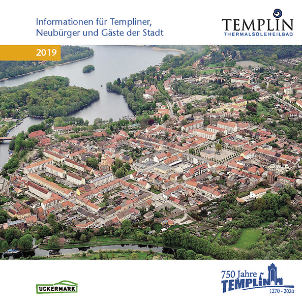 Stadtbroschüre Templin